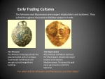 early trading cultures