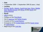 date 1 september 1939 2 september 1945 6 years