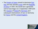 the empire of japan aimed to dominate east asia
