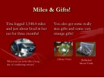 miles gifts