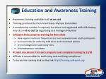 education and awareness training