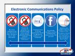 electronic communications policy