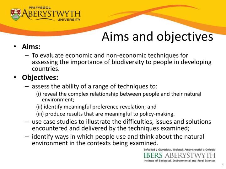 cadburys aims and objectives