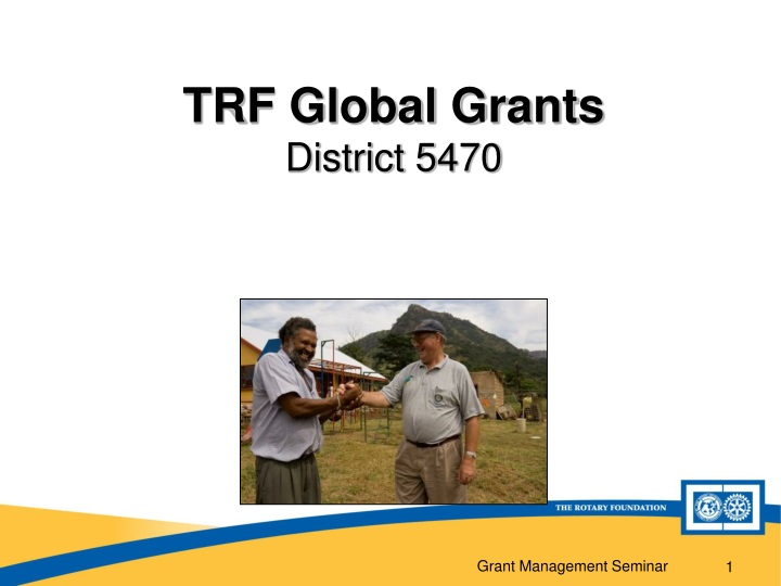 trf global grants district 5470 n.