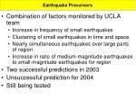 earthquake precursors8