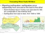 forecasting where faults will move2
