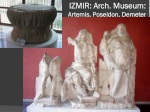 izmir arch museum artemis poseidon demeter