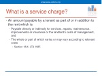 what is a service charge