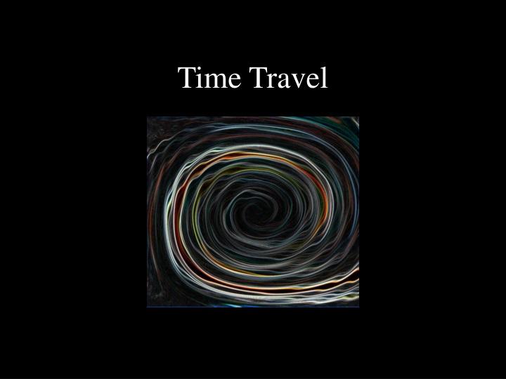 time travel n.