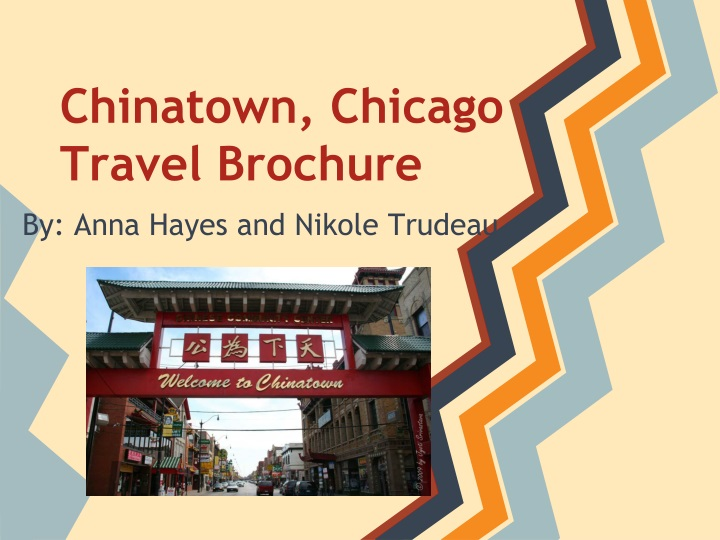 chinatown chicago travel brochure n.