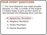 four point questions