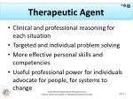 therapeutic agent