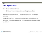 the legal issues