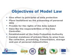 objectives of model law