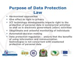 purpose of data protection law