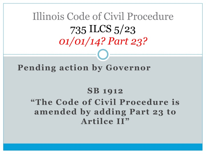 Illinois Code of Civil Procedure