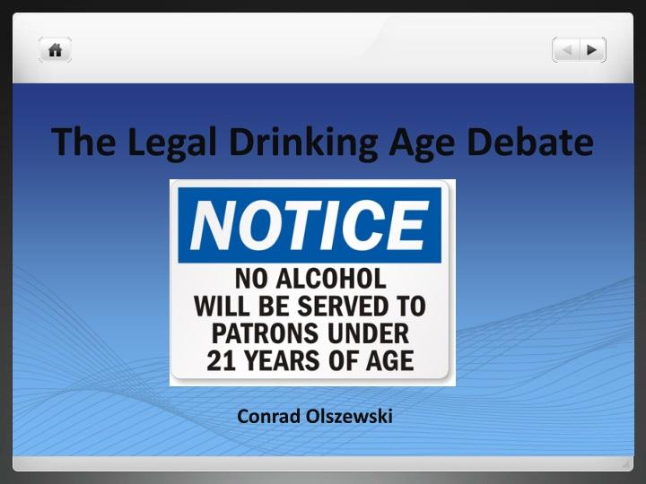 the legal drinking age debate n.