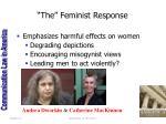the feminist response