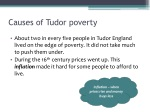 causes of tudor poverty