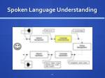 spoken language understanding