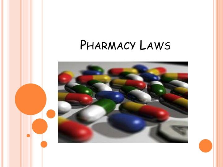 pharma laws
