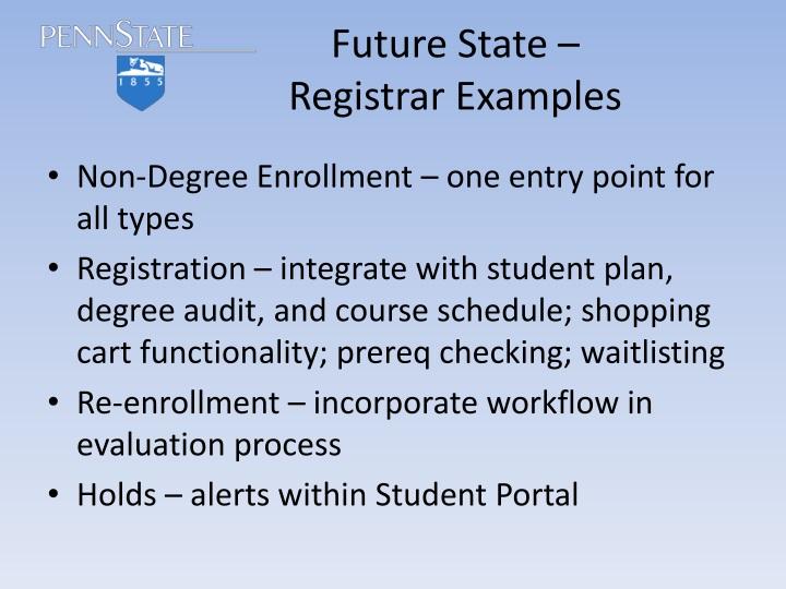 Future State –