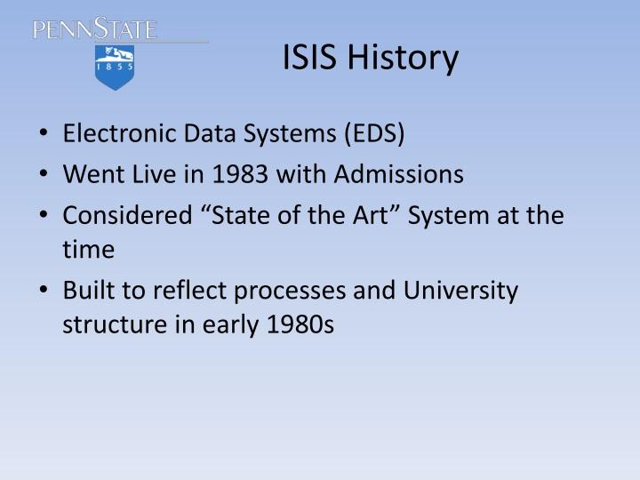 Isis history