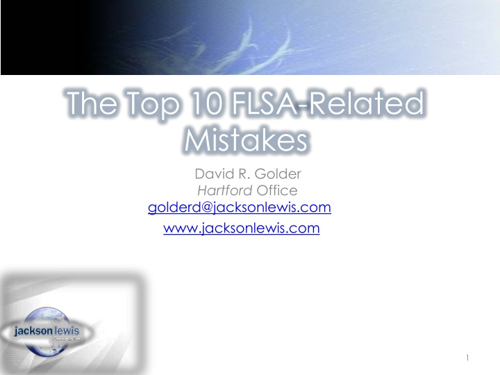 the top 10 flsa related mistakes n.
