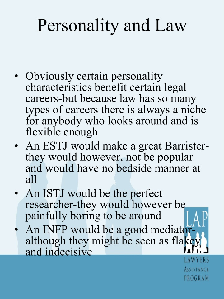 Personality and Law