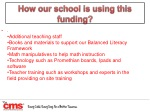 how our school is using this funding