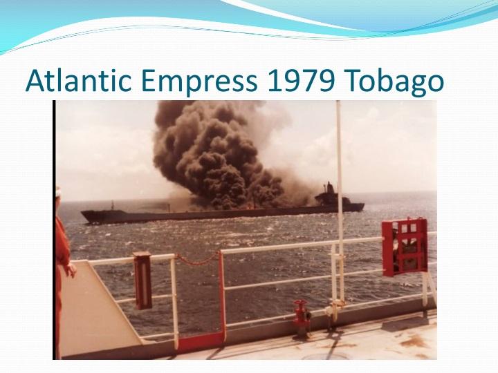 Atlantic Empress 1979 Tobago