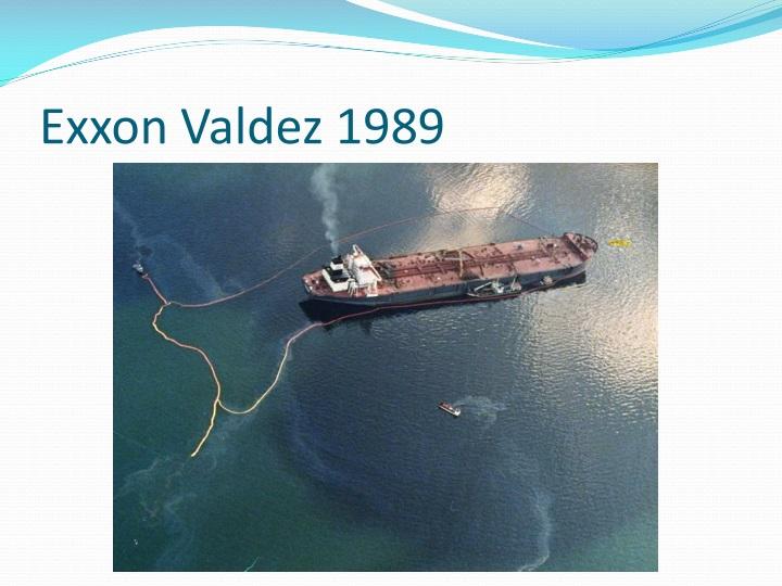 Exxon Valdez 1989