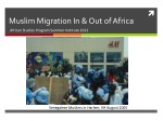 muslim migration in out of africa