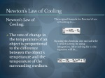 newton s law of cooling
