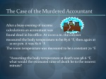 the case of the murdered accountant