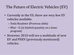 the future of electric vehicles ev
