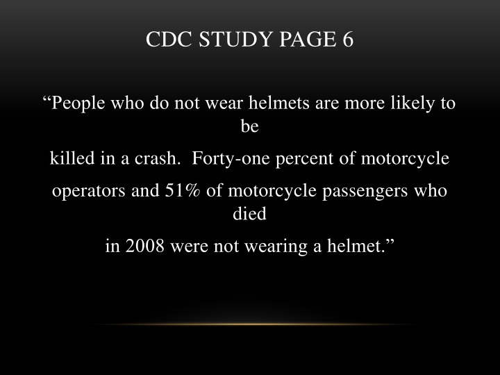 CDC STUDY PAGE