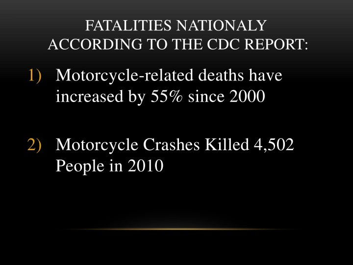 FATALITIES NATIONALY
