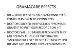 obamacare effects