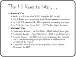 the us goes to war