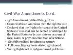 civil war amendments cont1