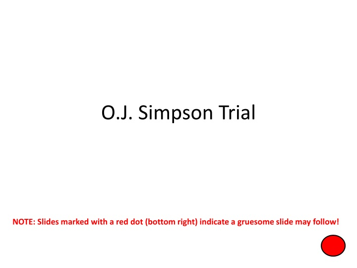 o j simpson trial n.