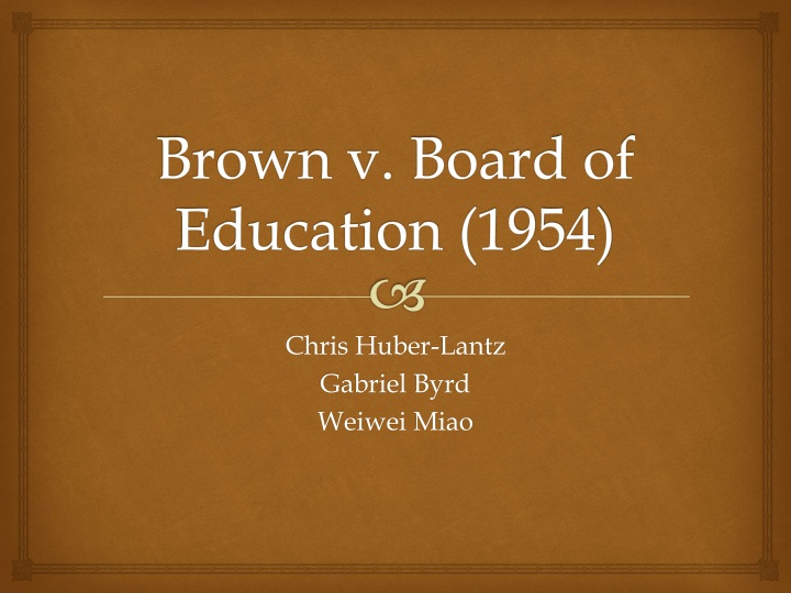 impact of brown vs board of education