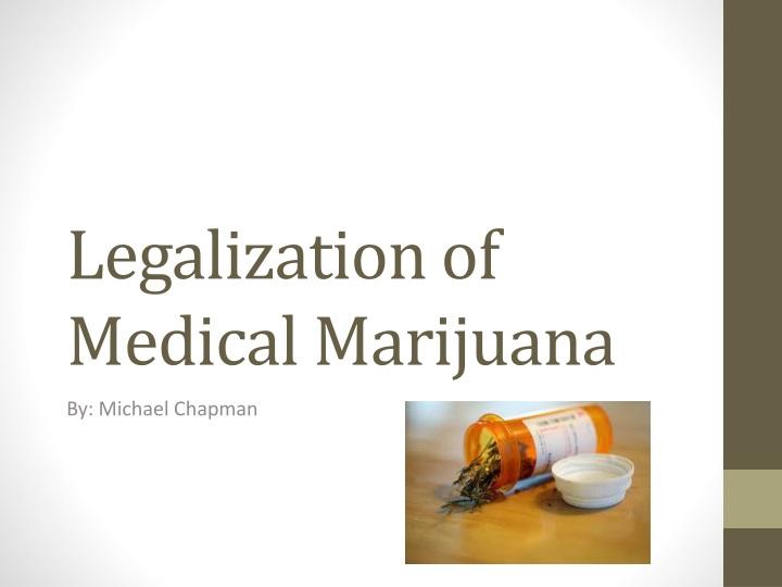 legalization of medical marijuana n.