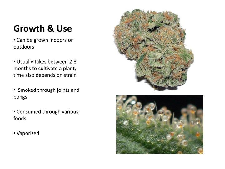 Growth use