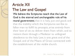 article xii the law and gospel 1