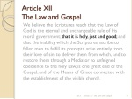 article xii the law and gospel 3