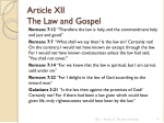 article xii the law and gospel 4