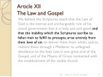 article xii the law and gospel 5