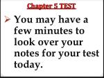 chapter 5 test